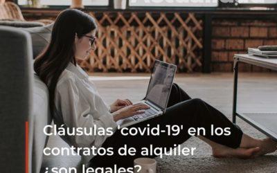 Cláusulas 'covid-19' en los contratos de alquiler, ¿son legales