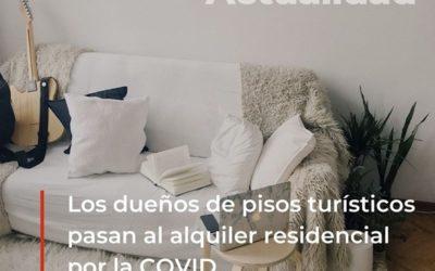 Los dueños de pisos turísticos pasan al alquiler residencial por la COVID